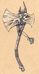 bone axe by Tastycake