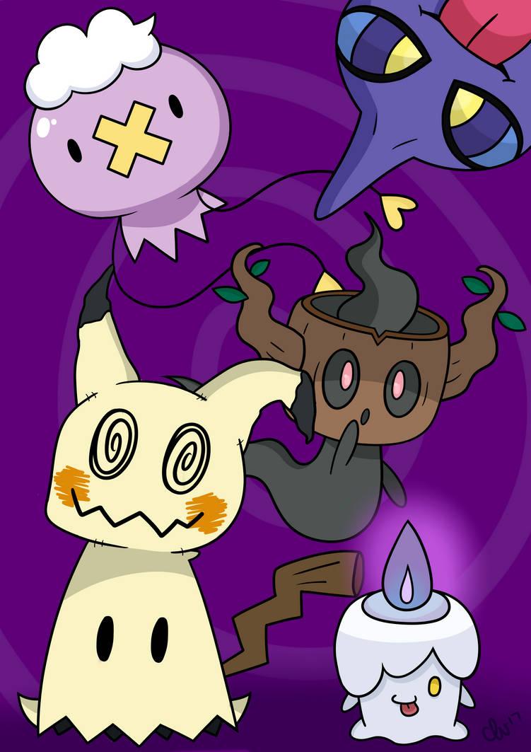 Ghost Pokemon PRINT