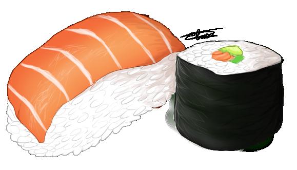 Sushis by Haku-du-Desert