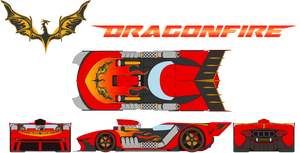 TRAK-BEASTS: Dragonfire Vehicle Form