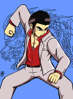 Kiryu Kazuma (Dragon of Dojima)