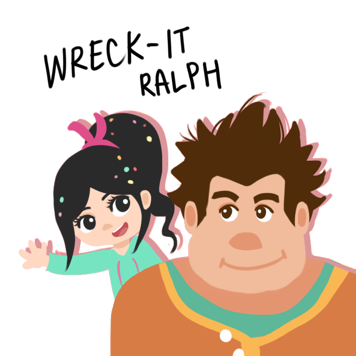 Wreck-It Ralph by LesioletteChrysanthe