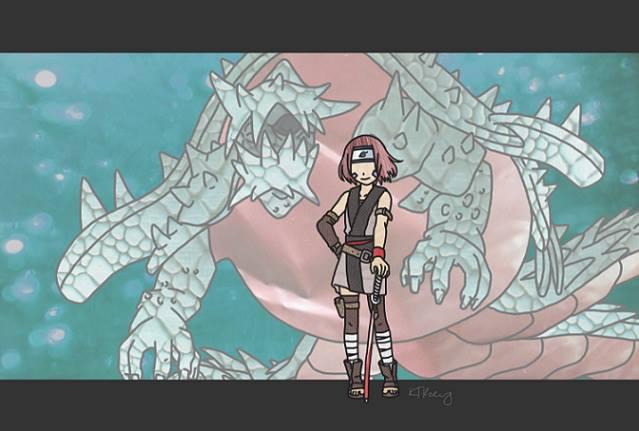 Isobu and Rin by kjbailey90 on DeviantArt