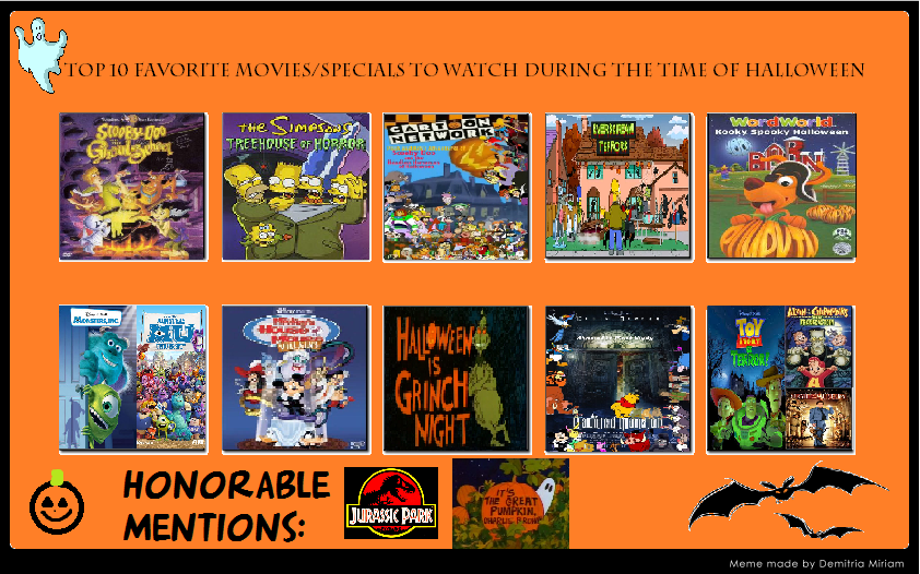 My Top 10 Favorite Halloween specials by YakkoWarnerMovies101 on ...