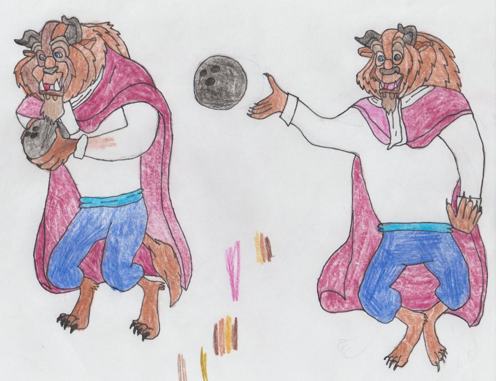 The Beast With A Bowling Ball By Yakkowarnermovies101 On Deviantart