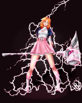 RWBY Nora Valkyrie Lightning Lord