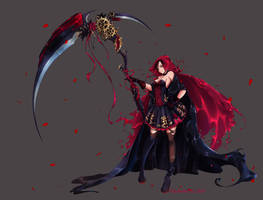 Ruby Rose (RWBY) by Viki-Bastet
