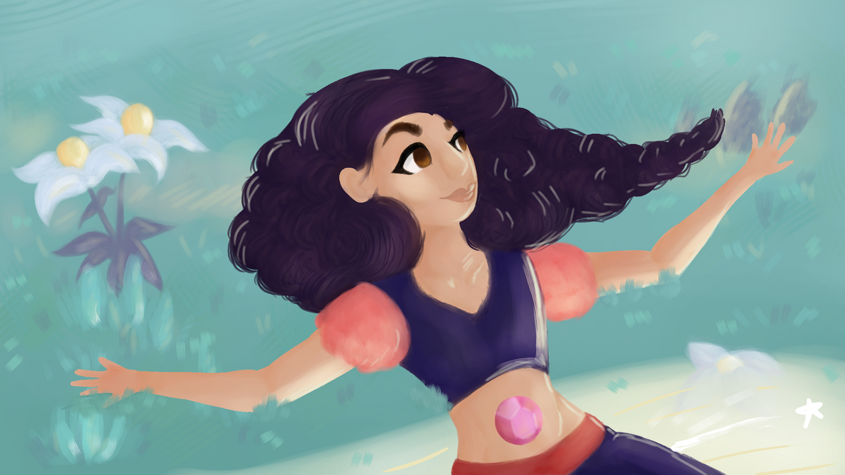I decided to redraw another Steven universe scene lmao whoops this took like ~7 hours but I never really gave it much thought :v anywayssss art is mine but stevonnie (c) steven universe/rebecca sug...