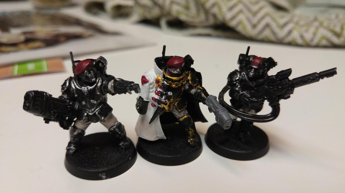 40k Stormtroopers by bankiebrodie