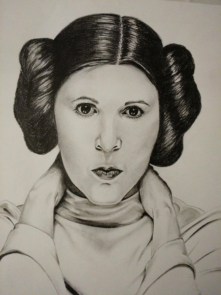 Princesse Leia by Dmanavai