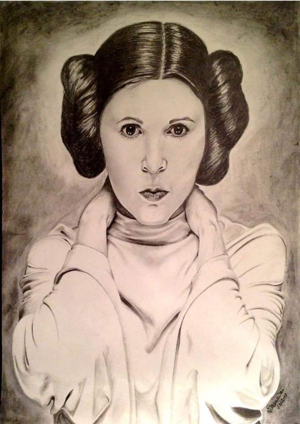 Princess Leia by Dmanavai