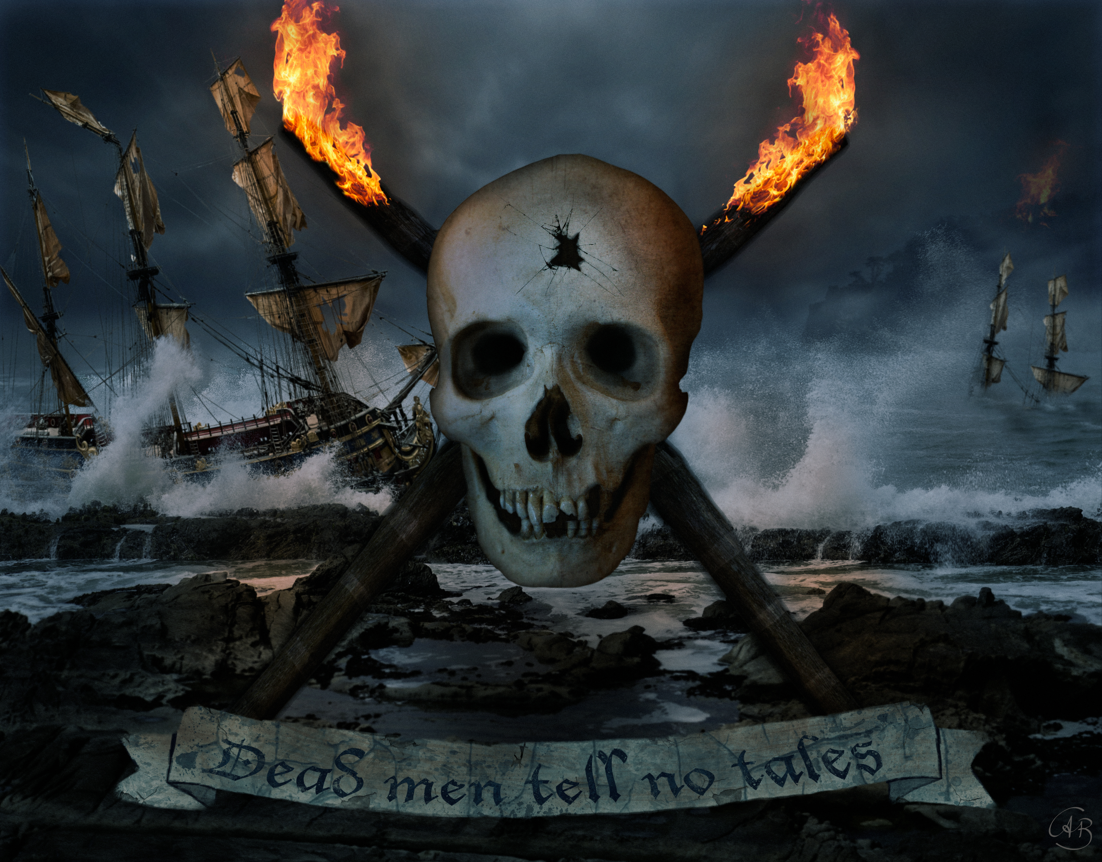 Dead Men tell no tales by Alobyss