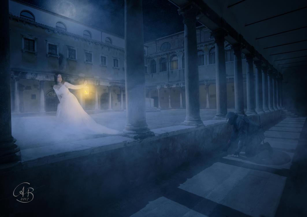 Escape in Venice by Alobyss