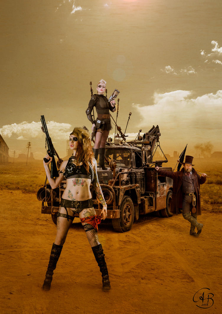 MadMax or the furious three by Alobyss