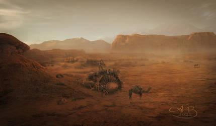 The Desert Scrap collector