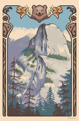 Half-Dome, Yosemite