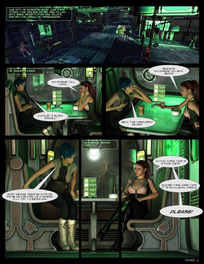 Dark Days - Page 01 by Lexana