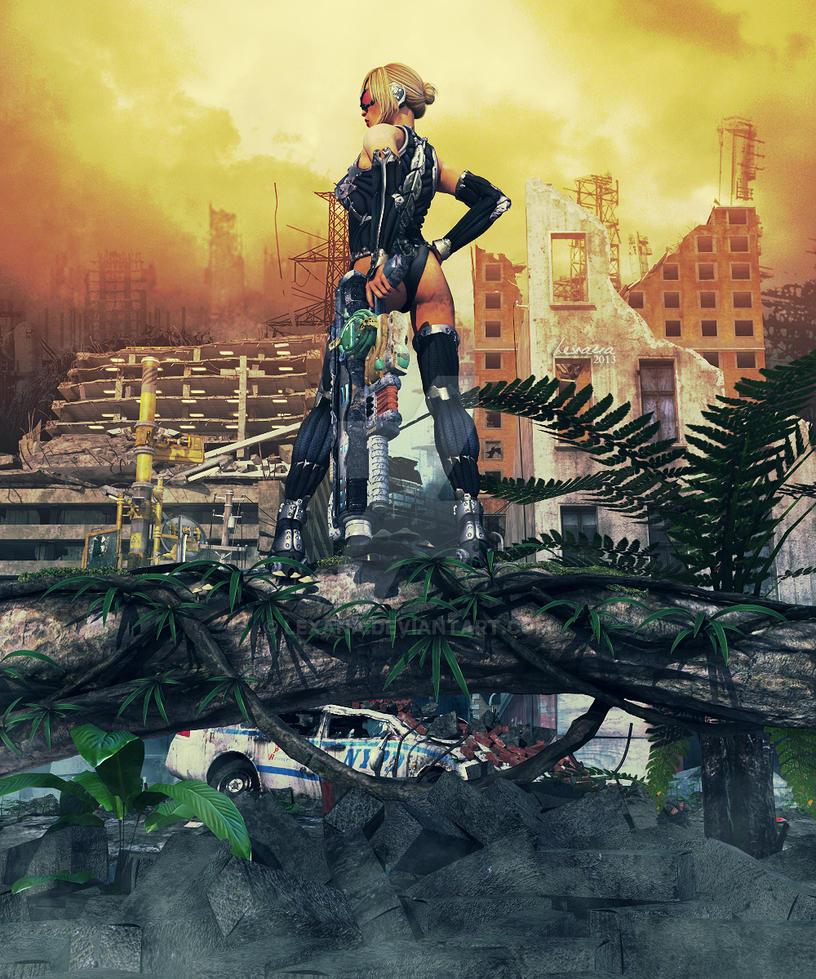 A dark future (Crysis Style) by Lexana
