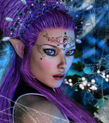 Queen of the mystic forrest