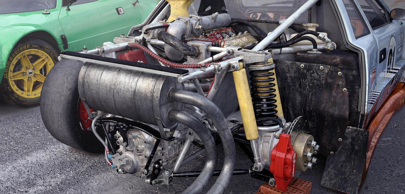 Lancia 037 Motore by Farins