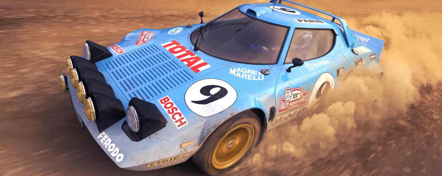 Lancia Stratos Charnonnet by Farins