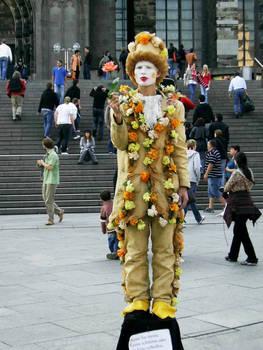 Crazy Flowerman