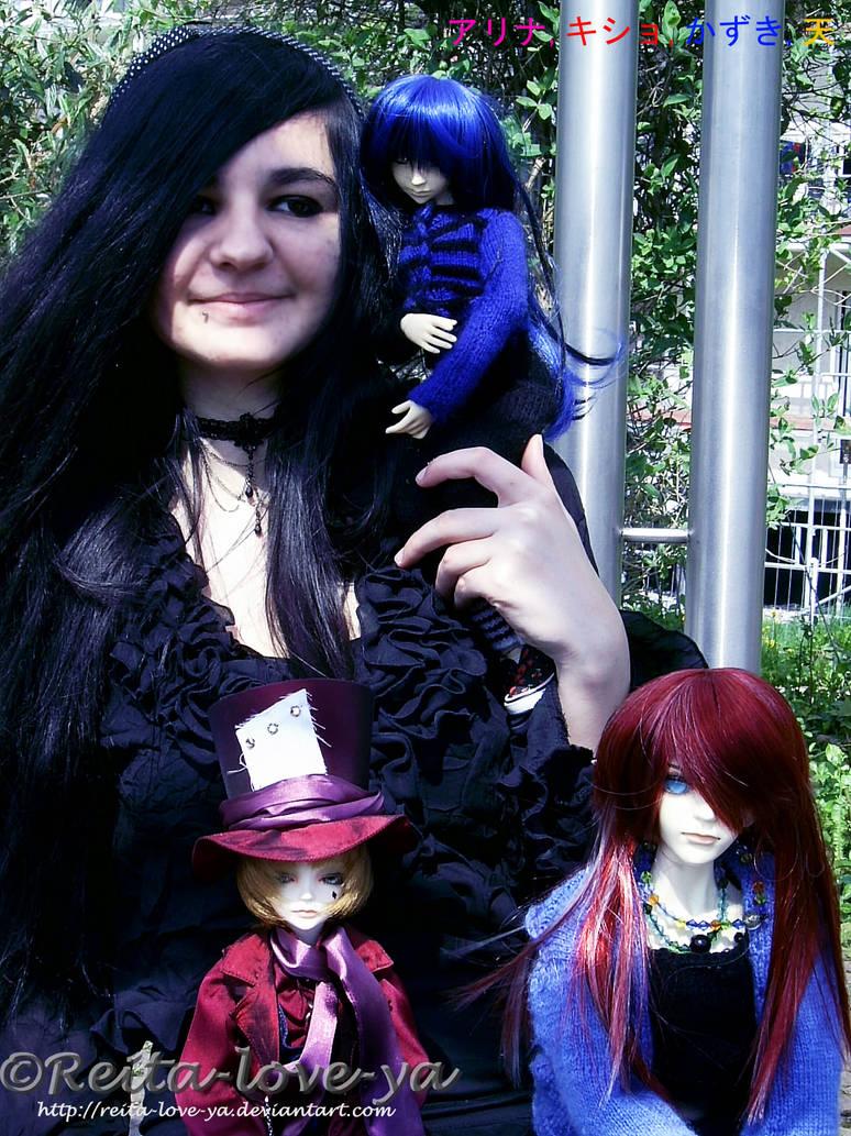 Alina,Kisho,Kazuki,Tian 7