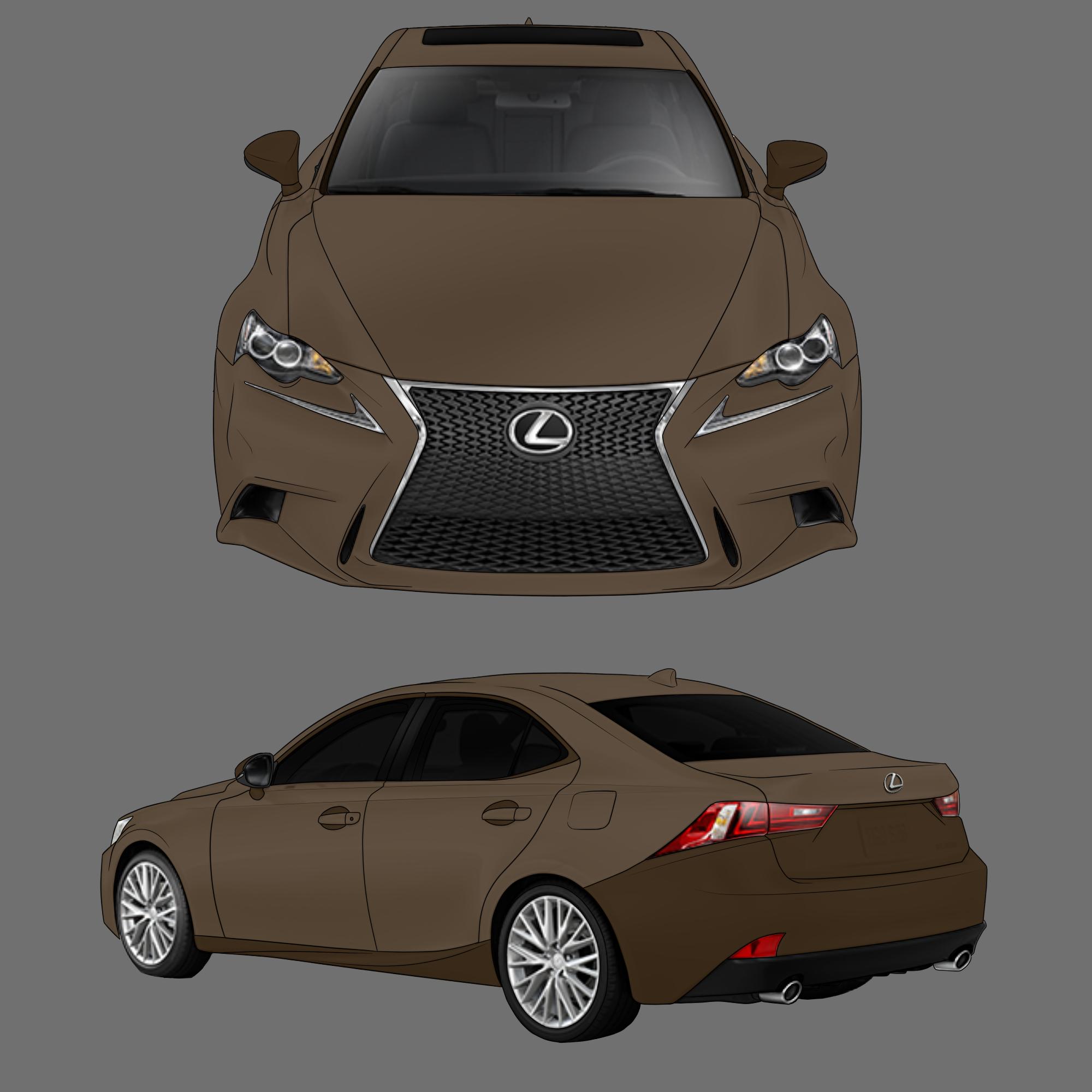 Lexus F-Sport by Sushiopolis