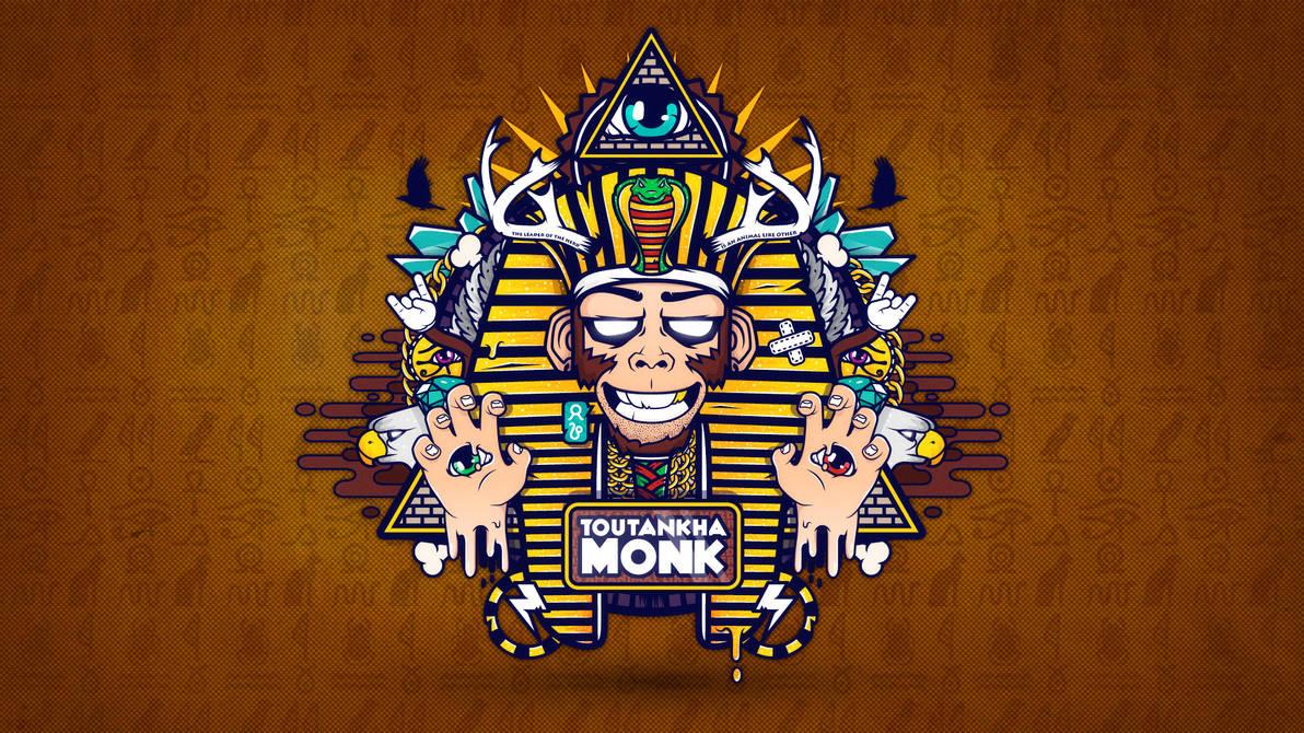 Toutankha'Monk