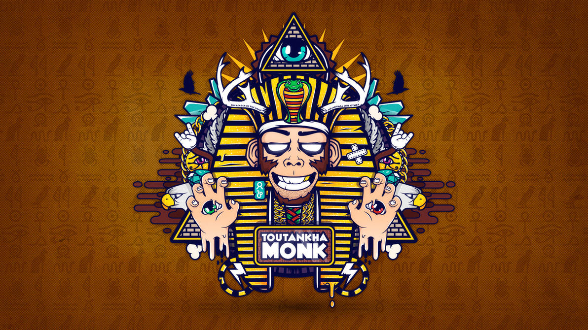 Toutankha'Monk by nouam