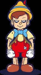 Dark Pinocchio by nouam