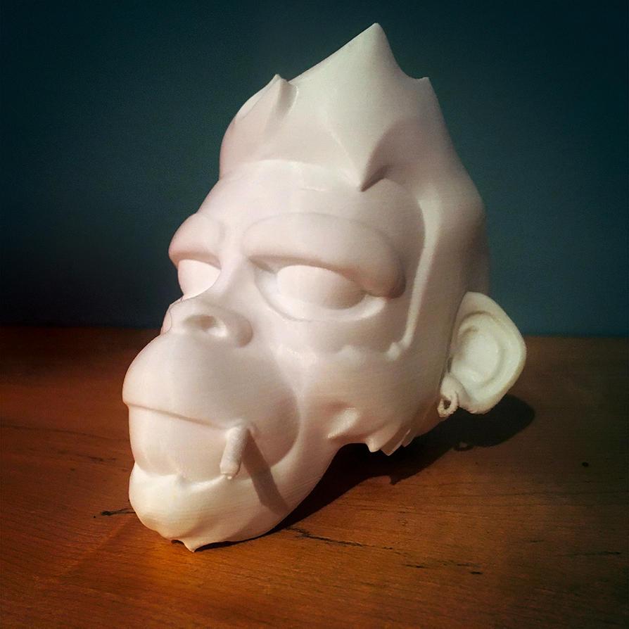 3D face by nouam