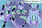 Yuna Lunaris - Reference Sheet
