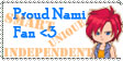 Proud Nami Fan Stamp by UnderWooder