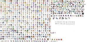 New all pokemon sprite sheet by Cato-chan