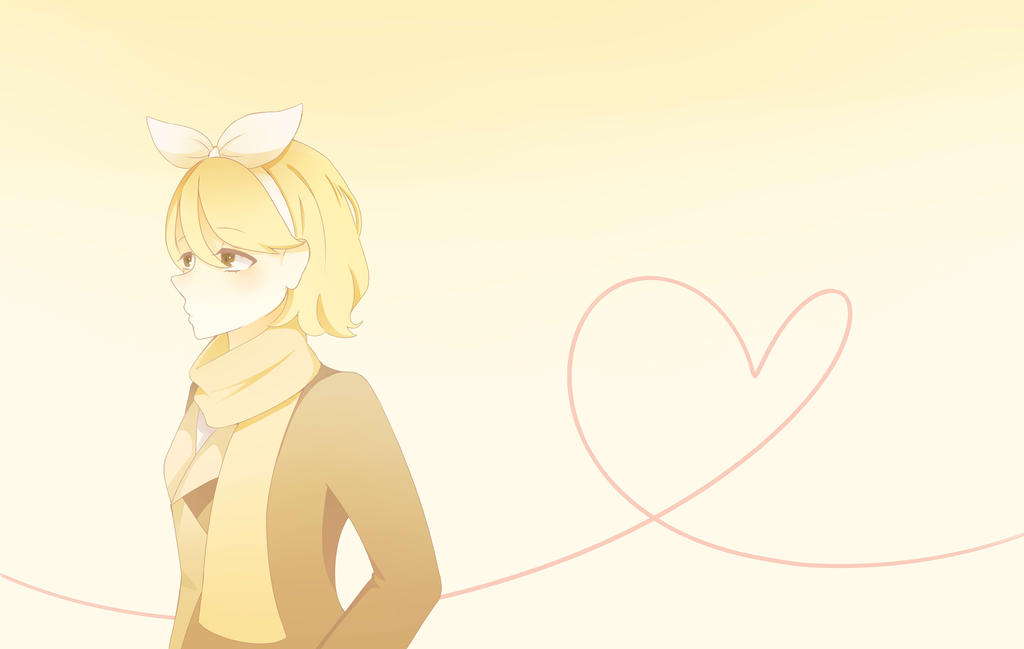.:Redraw:. Kagamine Rin~ by RetartedForever