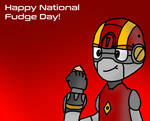 Happy National Fudge Day from Marty!