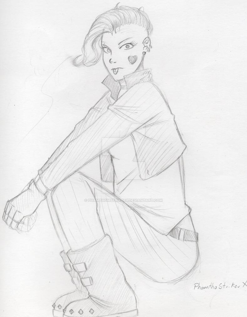 Punk Girl by PhamthomStrikerX