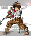 Alex by AlexanderDefeo