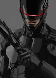 Robocop speed paint by AlexanderDefeo