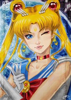 Sailormoon Denim Jacket