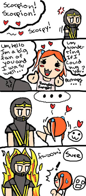 Silly MK fangirl