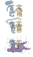 Its raining rain