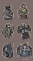 Titanfall Characters