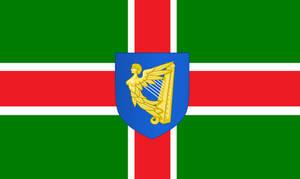 Flag of the Kingdom of Ireland (House of Stuart)