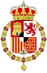Coat of arms of the Hohenzollern King of Spain