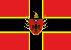 Alternate Flag of Albania by ramones1986