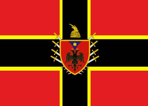 Alternate Flag of Albania