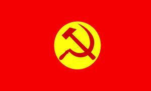 Flag of the Tibetan Communist Party
