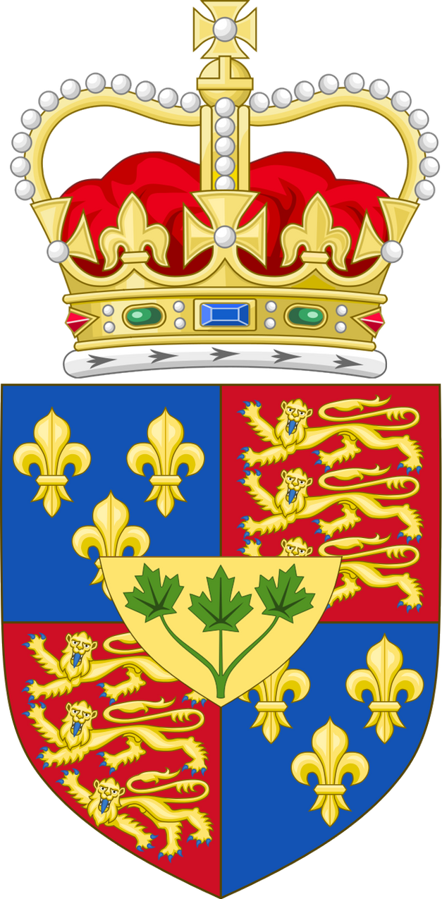 Coat of arms of (an alternate) Canada by ramones1986 on ...